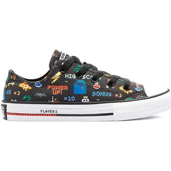 Pantofi Copii Pantofi sport Casual Converse 670351C Negru