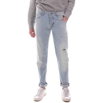 Îmbracaminte Bărbați Jeans drepti Sseinse PJE763SS Albastru