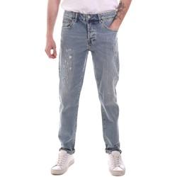 Îmbracaminte Bărbați Jeans drepti Sseinse PJE764SS Albastru