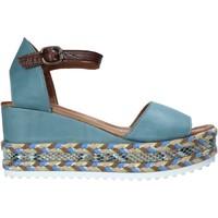 Pantofi Femei Sandale  Bueno Shoes 21WQ6000 Albastru