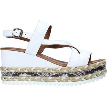 Pantofi Femei Sandale  Bueno Shoes 21WQ6002 Alb