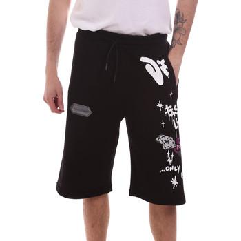 Îmbracaminte Bărbați Pantaloni scurti și Bermuda Disclaimer 21EDS50518 Negru