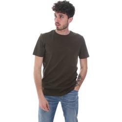 Îmbracaminte Bărbați Tricouri mânecă scurtă Antony Morato MMKS02023 FA100229 Verde