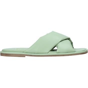 Pantofi Femei Papuci de vară Grace Shoes 372002 Verde