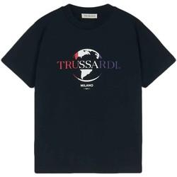 Îmbracaminte Bărbați Tricouri mânecă scurtă Trussardi 52T00443-1T005227 Negru