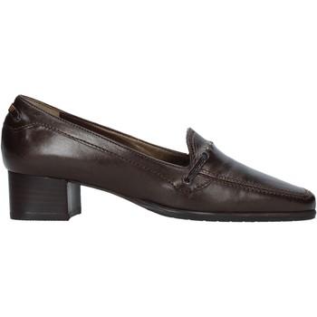 Pantofi Femei Mocasini Confort 6395 Maro