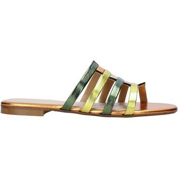 Pantofi Femei Papuci de vară Café Noir XV9212 Portocale