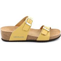 Pantofi Femei Papuci de vară Grunland CB2548 Galben