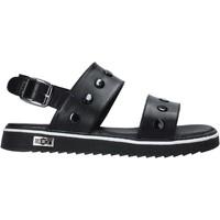 Pantofi Fete Sandale  Cult PLATE1 Negru