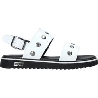 Pantofi Fete Sandale  Cult PLATE2 Alb