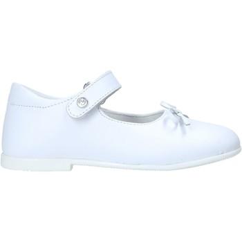 Pantofi Fete Balerin și Balerini cu curea Naturino 2012962 08 Alb