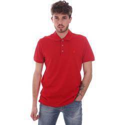 Îmbracaminte Bărbați Tricou Polo mânecă scurtă Navigare NV82108 Roșu