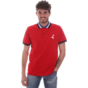 Îmbracaminte Bărbați Tricou Polo mânecă scurtă Navigare NV82116 Roșu