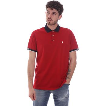 Îmbracaminte Bărbați Tricou Polo mânecă scurtă Navigare NV72058 Roșu