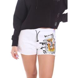 Îmbracaminte Femei Pantaloni scurti și Bermuda Disclaimer 21EDS50650 Alb