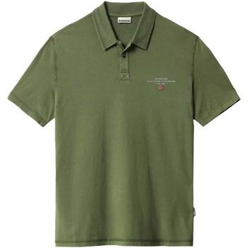 Îmbracaminte Bărbați Tricou Polo mânecă scurtă Napapijri NP0A4F9P Verde