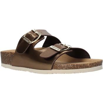 Pantofi Femei Papuci de vară Bionatura 94THESISD-LAMRAM Maro