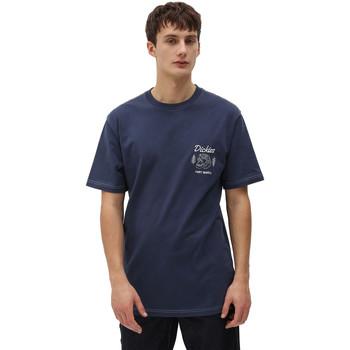 Îmbracaminte Bărbați Tricouri mânecă scurtă Dickies DK0A4X9NNV01 Albastru