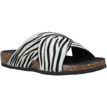 Pantofi Femei Papuci de vară Bionatura 10A2118-I-CAVBNR Negru