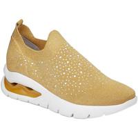 Pantofi Femei Pantofi Slip on CallagHan 45806 Galben
