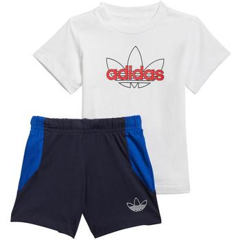 Îmbracaminte Băieți Compleuri copii  adidas Originals GN2268 Albastru