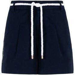 Îmbracaminte Femei Pantaloni scurti și Bermuda Ea7 Emporio Armani 3KTS54 TN3EZ Albastru
