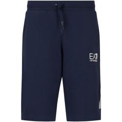 Îmbracaminte Bărbați Pantaloni scurti și Bermuda Ea7 Emporio Armani 3KPS67 PJ05Z Albastru