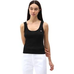 Îmbracaminte Femei Maiouri și Tricouri fără mânecă Dickies DK0A4XB9BLK1 Negru