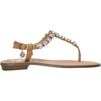 Pantofi Femei  Flip-Flops Gold&gold A21 GL618 Maro