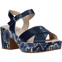 Pantofi Femei Sandale  CallagHan 28800 Albastru