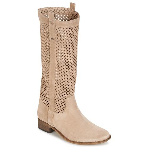 Pantofi Femei Cizme casual Betty London DIVOUI Bej