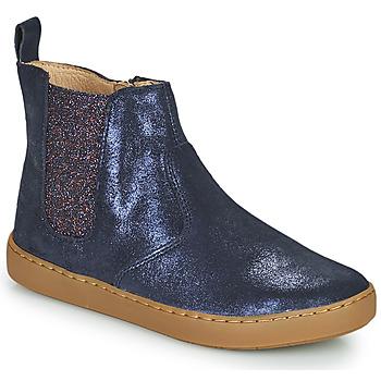 Pantofi Fete Ghete Shoo Pom PLAY CHELSEA Albastru