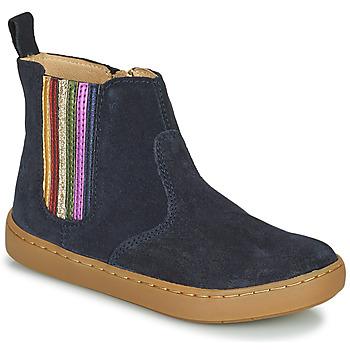 Pantofi Fete Ghete Shoo Pom PLAY NEW SHINE Albastru