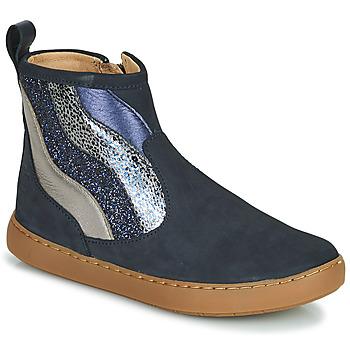 Pantofi Fete Ghete Shoo Pom PLAY WAVES Albastru