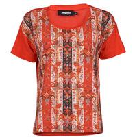 Îmbracaminte Femei Tricouri mânecă scurtă Desigual LOMBOK Multicolor