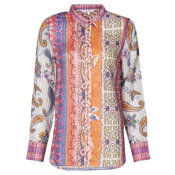 Îmbracaminte Femei Tricouri cu mânecă lungă  Desigual BOHO Multicolor