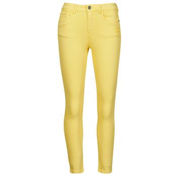 Îmbracaminte Femei Pantalon 5 buzunare Desigual ALBA Galben