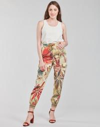 Îmbracaminte Femei Pantaloni fluizi și Pantaloni harem Desigual TOUCHE Multicolor