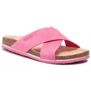 Pantofi Femei Papuci de vară Big Star HH274597 Roz