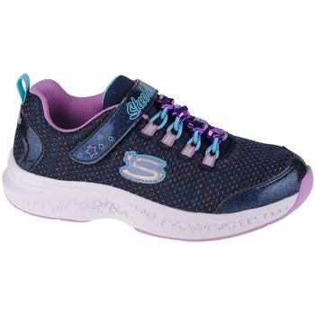 Pantofi Fete Pantofi sport Casual Skechers Star Speederjewel Kicks Albastru marim