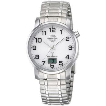 Ceasuri & Bijuterii Bărbați Ceasuri Analogice Master Time MTGA-10306-12M, Quartz, 41mm, 3ATM Argintiu