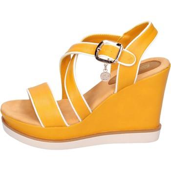 Pantofi Femei Sandale  Enrico Coveri Sandale BH347 galben