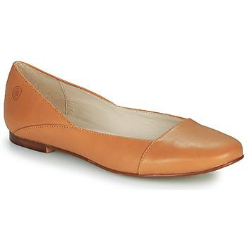 Pantofi Femei Balerin și Balerini cu curea Casual Attitude TOBALO Maro