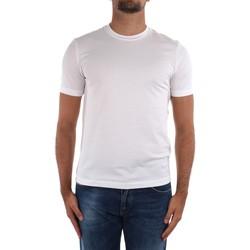 Îmbracaminte Bărbați Tricouri mânecă scurtă Cruciani CUJOSB G30 White