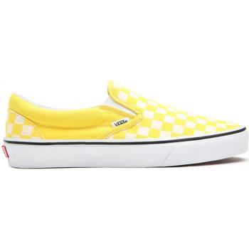 Pantofi Bărbați Pantofi Slip on Vans Classic slip-on galben
