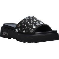 Pantofi Femei Papuci de vară Cult CLE104329 Negru