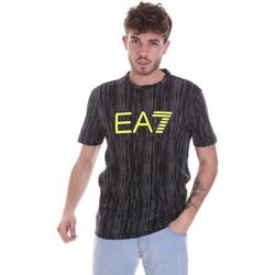 Îmbracaminte Bărbați Tricouri mânecă scurtă Ea7 Emporio Armani 6HPT04 PJB1Z Negru