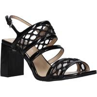Pantofi Femei Sandale  Apepazza S0MONDRIAN08/PAT Negru