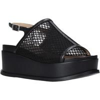 Pantofi Femei Sandale  Apepazza S0CHER04/NET Negru