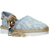Pantofi Femei Espadrile Manila Grace S677DU Albastru